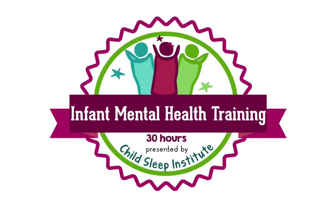 a simple graphic signifying 30 hours of  infant mental health education, a course of study for doulas and other child and newborn health professionals